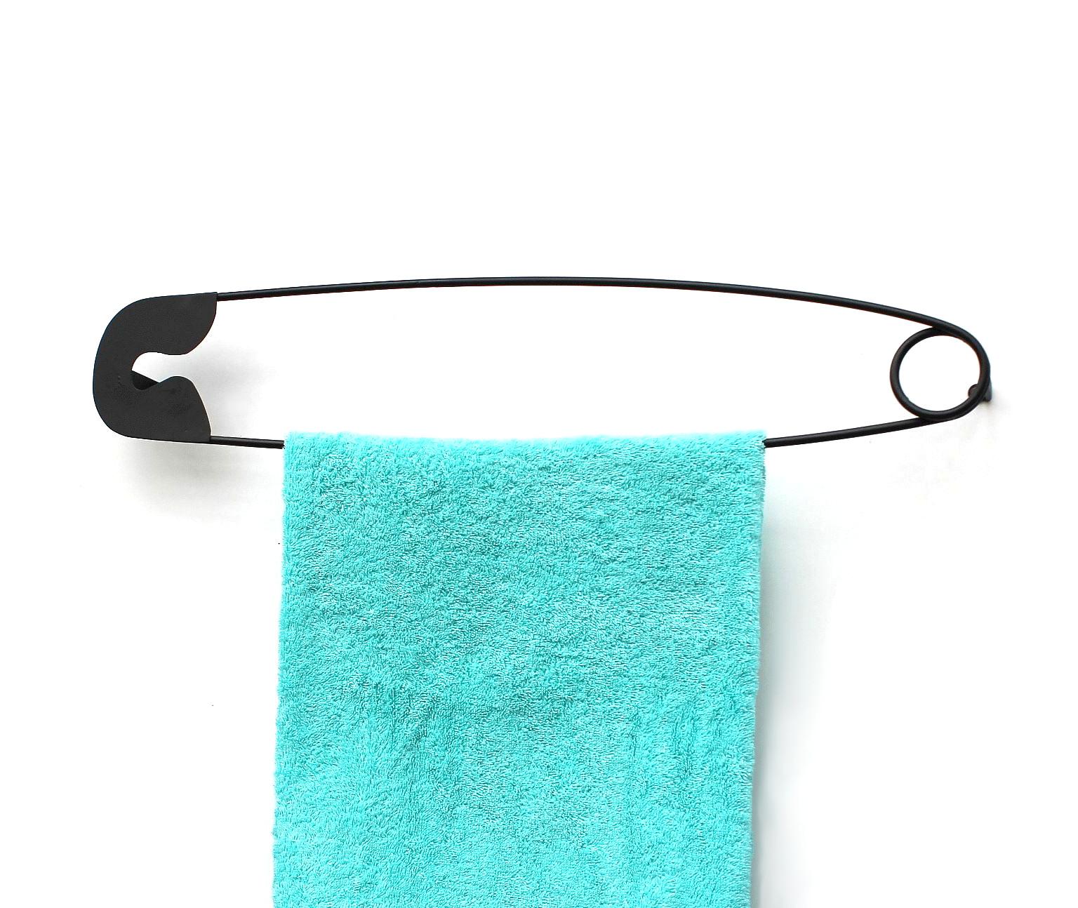 Dandibo Design Handtuchhalter Handtuchstange Sicherheitsnadel 62 Cm