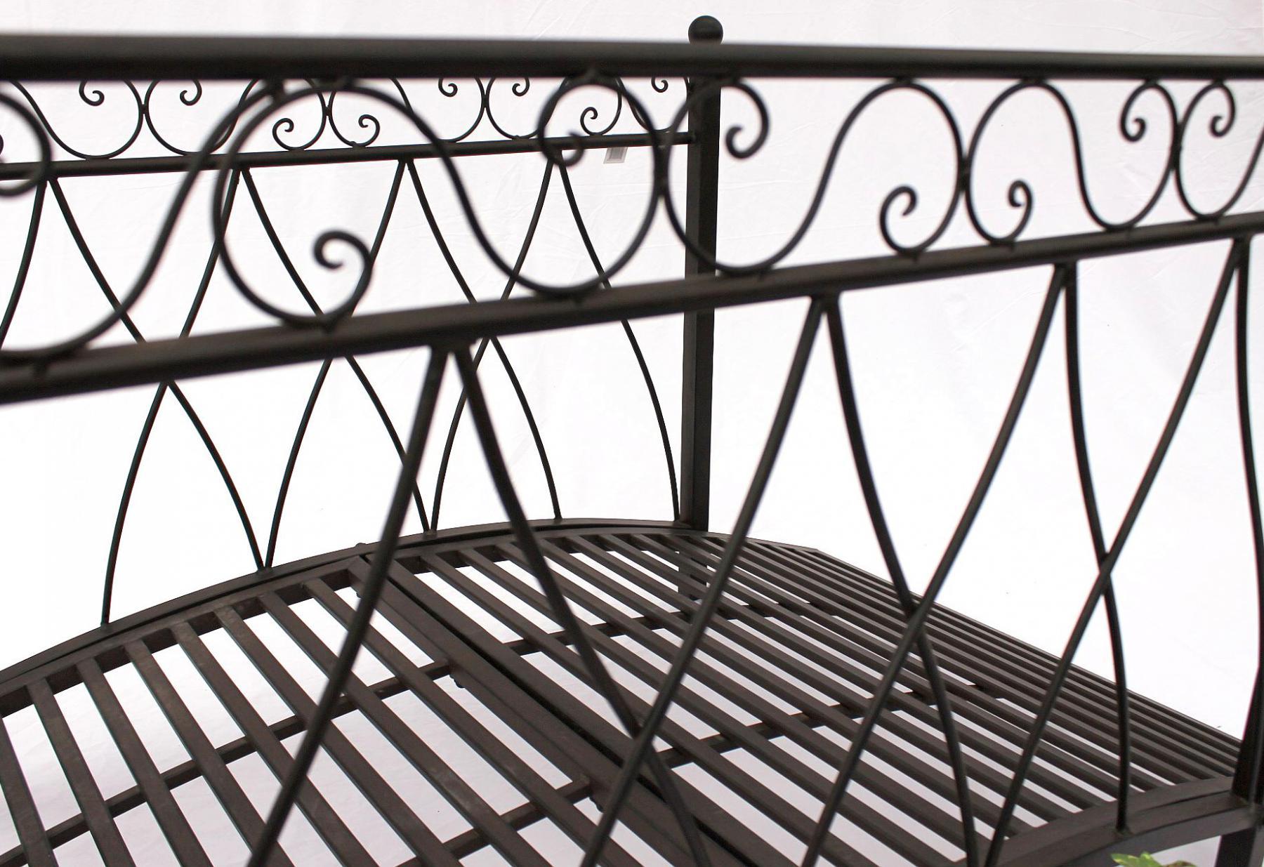 br cke aus metall 111252 eisenbr cke 145cm gartenbr cke metallbr cke gartendeko kaufen bei. Black Bedroom Furniture Sets. Home Design Ideas