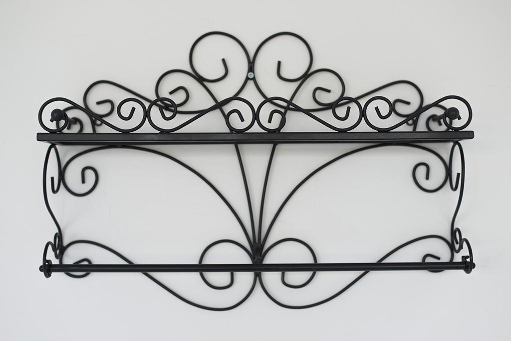 wandregal especias wandkonsole 53cm k chenregal aus metall badregal wandablage kaufen bei. Black Bedroom Furniture Sets. Home Design Ideas