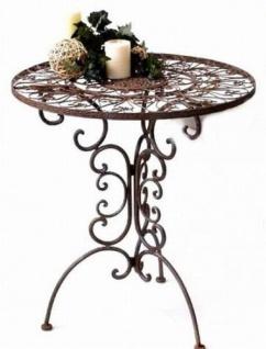 """Tisch Gartentisch aus Metall Schmiedeeisen """" Tecla"""""""
