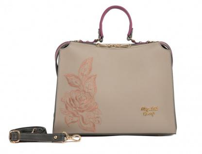 Elizabeth George Damen Handtasche 783-702 Damentasche Henkeltasche Tragetasche Schultertasche Shopper
