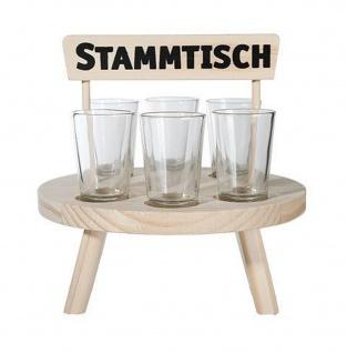 Schnapsgläser Stammtisch Holztisch 932078 Schnapsleiste Schnapsbrett Gläser Shotgläser Party