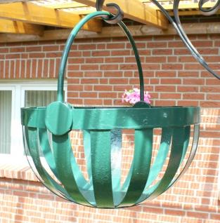 Blumenampel mit Wandkonsole Verzinkt Pulver-beschichtet
