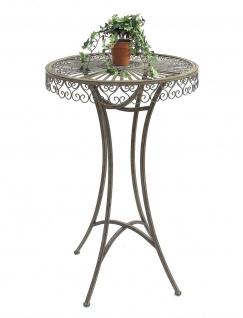 DanDiBo Stehtisch Garten Metall Antik 130414 Tisch H-106cm D-65cm Gartentisch Bistrotisch Bartisch - Vorschau 4