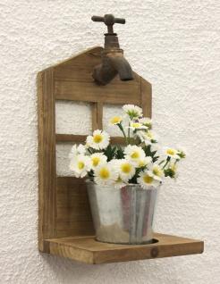 Wandblumenhalter YX-14B224 Blumenständer H-31cm Wandregal Blumenregal Blumentopf