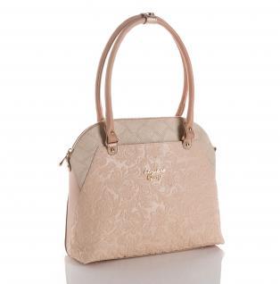 Elizabeth George Damen Handtasche 767 2 Henkeltasche Damentasche Tragetasche Schultertasche Shopper
