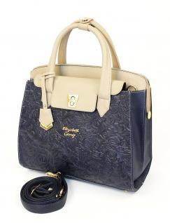 Elizabeth George Damen Handtasche 736 3 Henkeltasche Damentasche Tragetasche Schultertasche Shopper