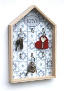 Schlüsselkasten Weiß Holz Keys 32594 Schlüsselbox Schlüsselschrank Landhaus Vintage Shabby Chic