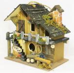 """Vogelhaus """" Vogel Villa"""" 83221 Vogelhäuschen Nistkasten aus Holz sehr dekorativ"""