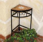 Blumenhocker Merano Mosaik 12013 Blumenständer 42cm Hocker Eckregal Tisch