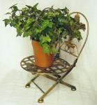 Blumenhocker Stuhl klappbar Blumenständer Pflanzenständer 32cm Puppenstuhl