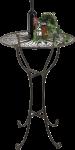 Stehtisch aus Metall 20832 Tisch H-105cm D-65cm Gartentisch Bistrotisch Bartisch