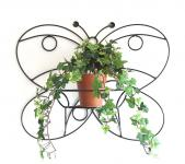 Wandtopfhalter KW048 Schmetterling 50cm Blumenständer Wandhalter Blumentopfhalter
