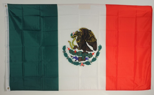 Flagge Fahne : Mexico Mexiko Mexikoflagge Nationalflagge Nationalfahne