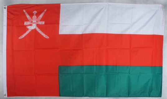 Flagge Fahne : Oman Nationalflagge Nationalfahne