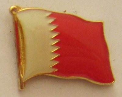 Bahrain (alt) Pin Anstecker Flagge Fahne Nationalflagge