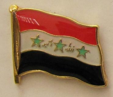 Irak Pin Anstecker Flagge Fahne Nationalflagge