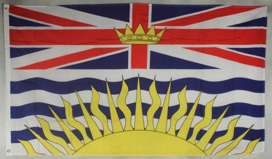 Flagge Fahne : British Columbia Kanada