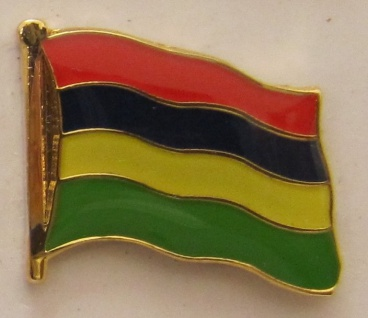 Mauritius Pin Anstecker Flagge Fahne Nationalflagge
