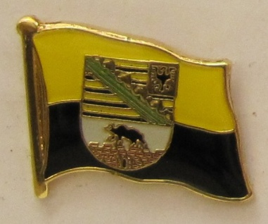 Pin Anstecker Flagge Fahne Sachsen-Anhalt
