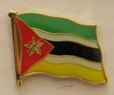 Mosambik Pin Anstecker Flagge Fahne Nationalflagge