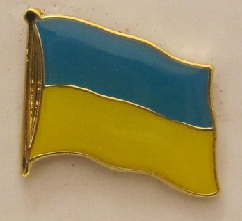 Pin Anstecker Flagge Fahne Ukraine Nationalflagge