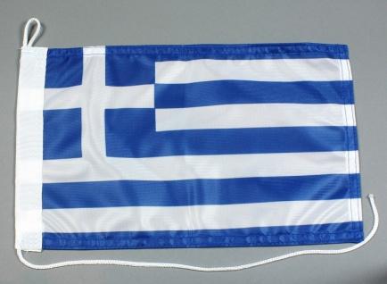 Bootsflagge : Griechenland 30x20 cm Motorradflagge