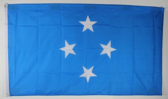 Flagge Fahne : Mikronesien Nationalflagge Nationalfahne