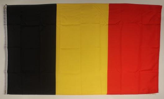 Belgien Flagge Großformat 250 x 150 cm wetterfest