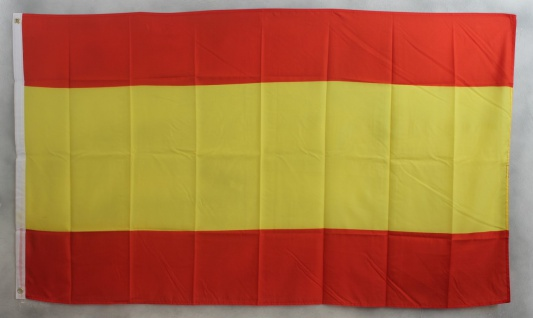 Flagge Fahne : Spanien Spanienflagge ohne Wappen Nationalflagge Nationalfahne