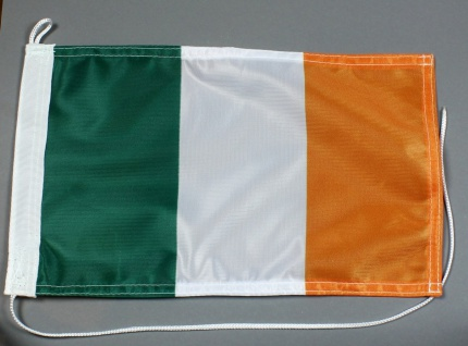 Bootsflagge : Irland 30x20 cm Motorradflagge