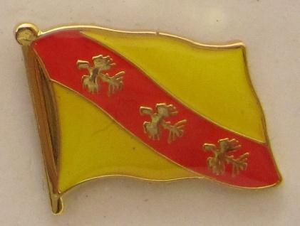 Pin Anstecker Flagge Fahne Lothringen Frankreich
