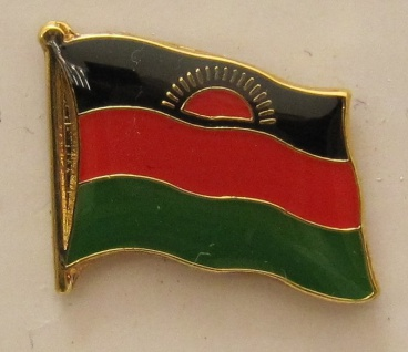Malawi Pin Anstecker Flagge Fahne Nationalflagge