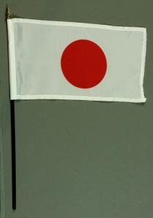 Tischflagge Japan 15x25 cm BASIC optional mit Tischflaggenständer
