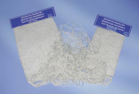 Fischernetz Deko natur 100x200cm