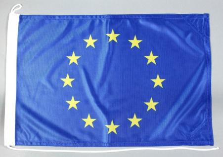 Bootsflagge Europa 30x45 cm Motorradflagge Bootsfahne