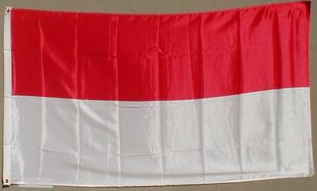 Flagge Fahne : Indonesien Nationalflagge Nationalfahne
