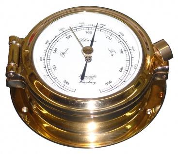 Schiffs Barometer 120 mm Bullaugen - Look