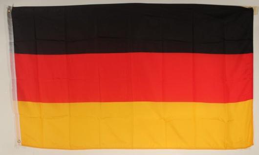 Flagge Fahne Deutschland BRD Deutschlandflagge Deutschlandfahne Nationalflagg...