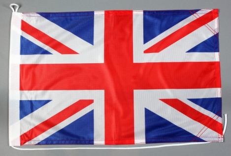 Bootsflagge Großbritannien 30x45 cm Motorradflagge Bootsfahne