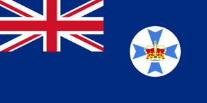 Flagge Fahne : Queensland Nationalflagge Nationalfahne