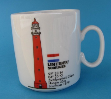 Leuchtturm Becher Ijmuiden Holland Niederlande