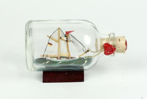 La belle poule Mini Buddelschiff 50 ml ca. 7, 2 x 4, 5 cm Flaschenschiff
