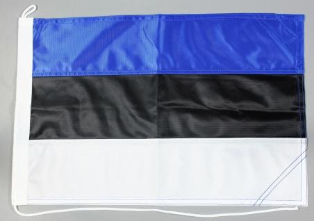 Bootsflagge Estland 30x45 cm Motorradflagge Bootsfahne