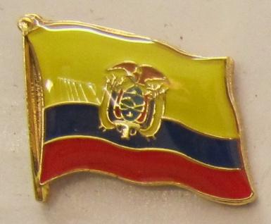 Ecuador Pin Anstecker Flagge Fahne Nationalflagge - Vorschau