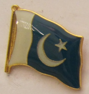 Pakistan Pin Anstecker Flagge Fahne Nationalflagge