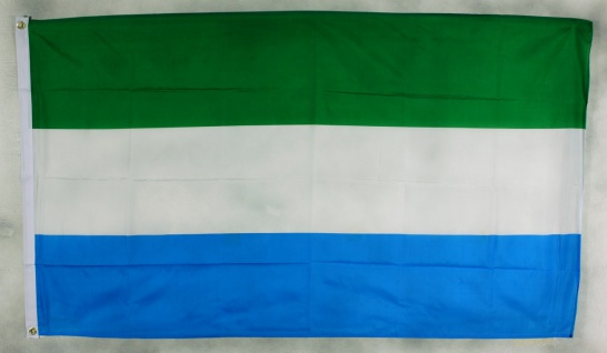 Flagge Fahne Sierra Leone Nationalflagge Nationalfahne