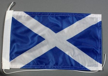 Bootsflagge : Schottland 30x20 cm Motorradflagge