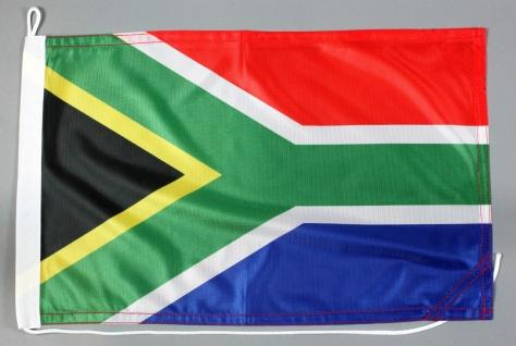 Bootsflagge Südafrika 30x45 cm Motorradflagge Bootsfahne