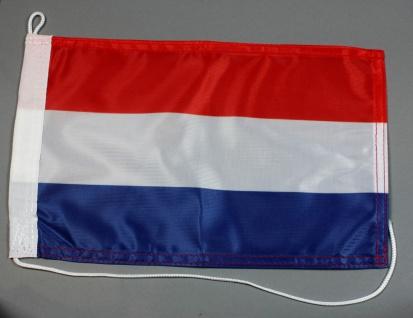Bootsflagge : Niederlande Holland 30x20 cm Motorradflagge
